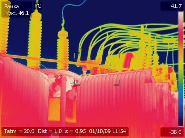 проведение тепловизионного контроля